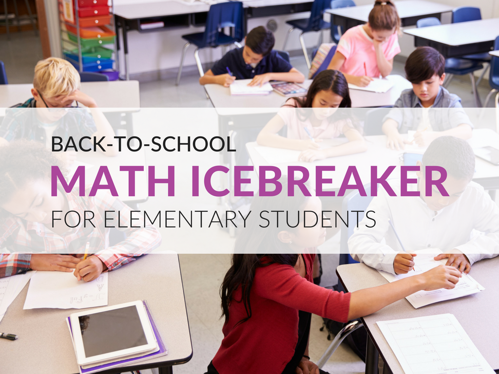 A Math Icebreaker Your Students Will Love, Grades 3–8