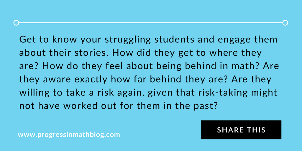 Five Math Strategies for Struggling Students