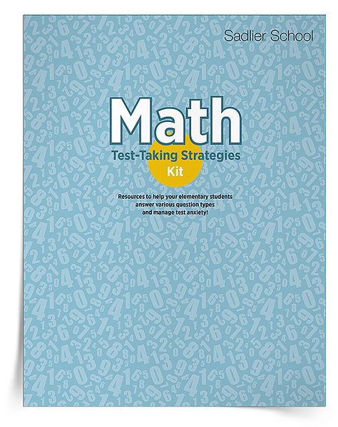 The Math Test-Taking Strategies Kit is filled with resources to help your elementary students answer various question types and manage test anxiety.