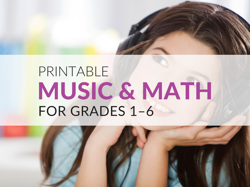 The music and math lesson plan I am providing is based on students listening to musical excerpts, analyzing them, and counting or clapping along with them to identify beat patterns. This lesson plan can be used at multiple grade levels to teach various mathematical concepts. Download the music and math lesson plans to show how to use integrate music into math and meet standards.
