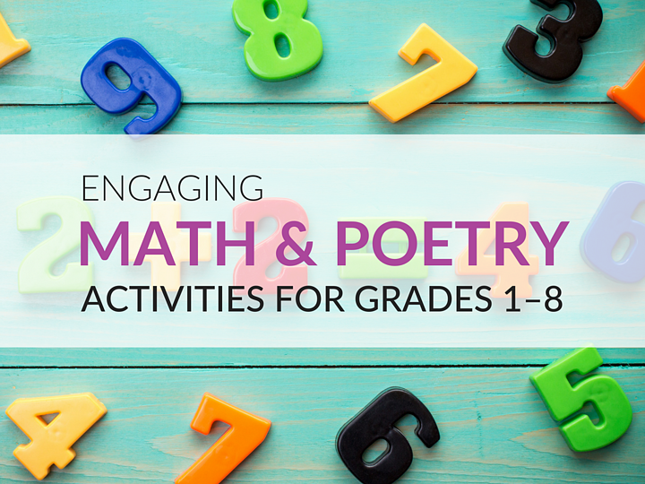 FUN Math and Poetry Activities Students Will Love, Grades 1–8