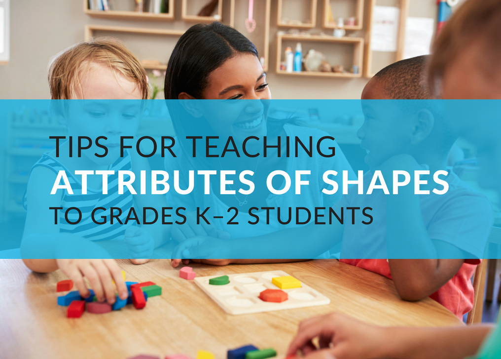 Teaching shapes and their attributes is an important part of early elementary education. One thing to remember when you are introducing shapes and their attributes is that students go through sequential stages of development when they learn about shapes. The stages were identified by Pierre van Hiele, who described his theory in Structure and Insight (1986). Clements and Battista further refined the stages in 1992[i].