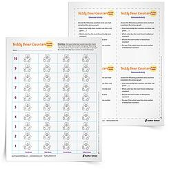 More activities for students who finish early! Download the Teddy Bear Counters activity now.