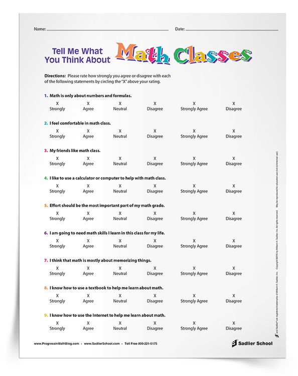 3 New School Year Activities To Get To Know Your Math Students