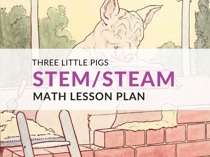 3 Little Pigs STEM/STEAM Lesson Plan Template, Grades 5–6