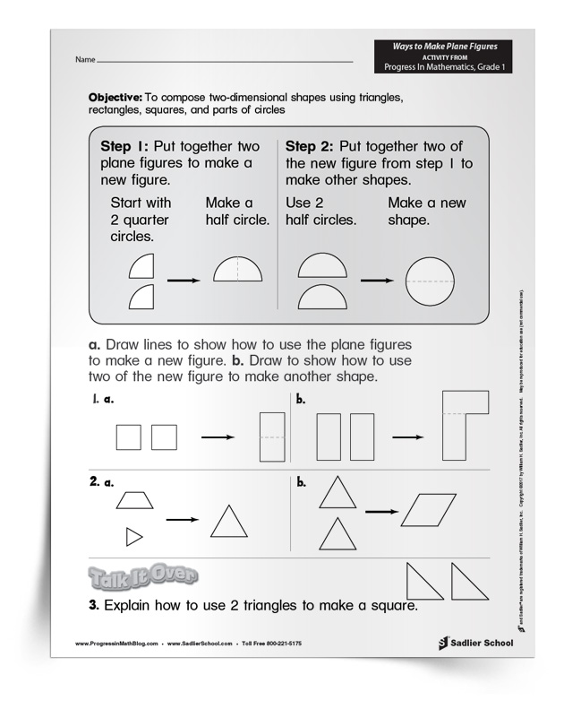 What are Plane Shapes?