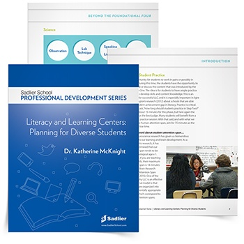 Download Dr. McKnight's Literacy and Learning Centers: Planning for Diverse Students eBook and start setting up your learning centers right away!