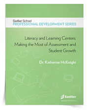 Download Dr. McKnight's Literacy and Learning Centers: Making the Most of Assessment and Student Growth eBook and start setting up your learning centers right away!