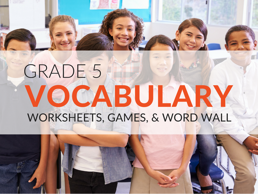 5th grade vocabulary worksheets. Free vocabulary games for 5th grade. These free 5th grade vocabulary printables will ensure students have fun while they work to acquire new language arts skills.