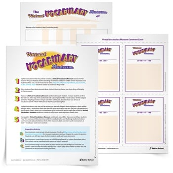 graphic relating to Printable Vocabulary Activities called 4th Quality Vocabulary Worksheets, Online games, and Products