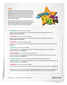 Students love games! You can never have enough vocabulary games in your teaching toolkit. Below are 4th grade vocabulary games teachers can use in the classroom to help students review words.