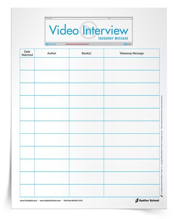 Author-Interviews-Vocabulary-Worksheet