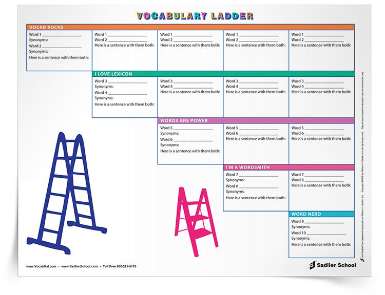 2nd Grade Vocabulary Worksheets