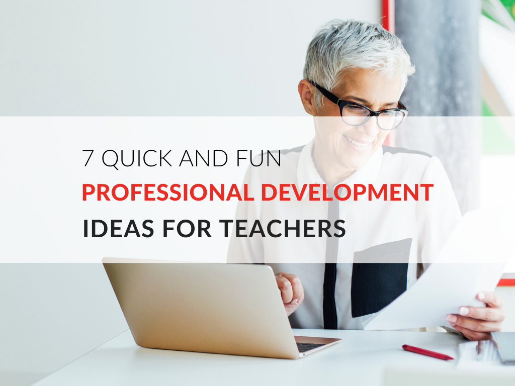 In this article, we'll explore some fun professional development ideas for teachers!