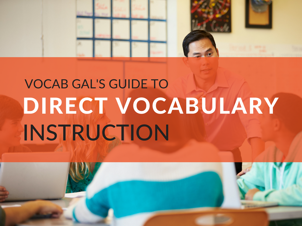Vocabulary Instruction Strategies & FREE Printable Resources >>> Learn how to successfully integrate all of the important aspects of direct vocabulary instruction into your classroom routine!