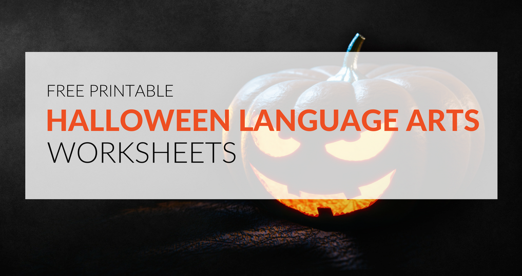 Download eight free Halloween language arts worksheets that will engage students in learning and make your classroom feel truly spooktacular!