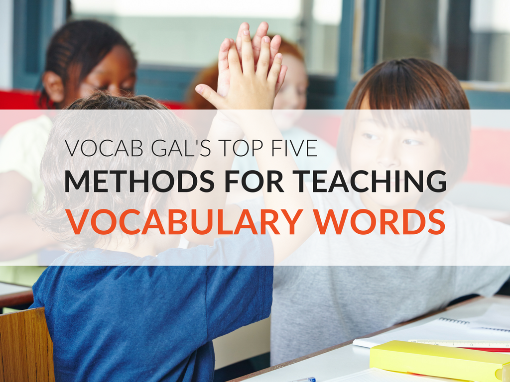 Ultimately, meaningful vocabulary instruction all boils down to three words: integrate, reiterate, and relevant. When you integrate vocabulary throughout your entire period or school day, reiterate words often, and show their relevance to students, students want to learn new words!  Here are my top five methods of teaching vocabulary that I use all year long.