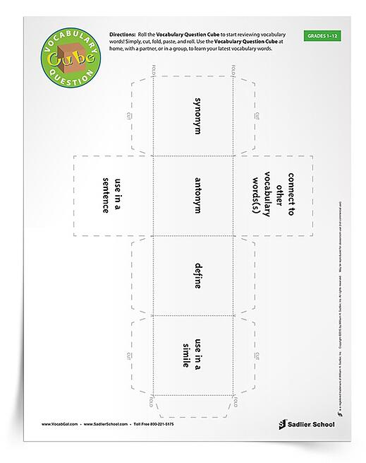 17 Printable VocabularyBuilding Games – Vocabulary Building Worksheets