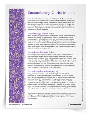 Encountering-Christ-in-Lent-Support-Article