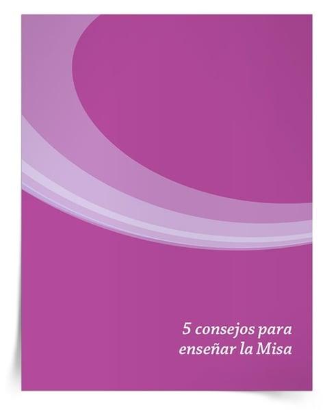 Descargue el libro electrónico que ofrece consejos para enseñar y motivar a los niños en la Misa.