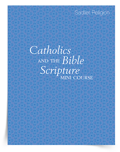 To kick-off your Catholics and the Bible Scripture Mini Course, download the course-pack and let this blog post guide you through the included articles and opportunities for reflection. Consider participating in this mini course over twelve days, twelve weeks, or whatever span of time that best fits your schedule!