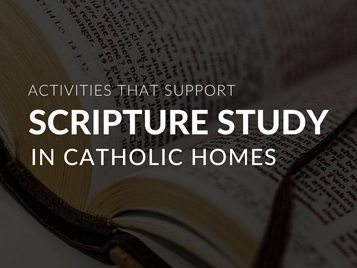 Regular Catholic Scripture study presents families with a wonderful opportunities to learn, share, pray and talk about our faith. If you are looking to encourage the children and families in your religious education program to explore and share Scripture together, review this roundup of resources to inform and inspire!
