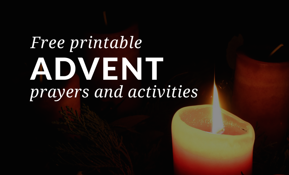 The Advent season is a time to pray to God, seek his forgiveness, and work for peace. Young children can strive to help other people see God's love during Advent. Download and print free Advent resources designed to be used at home or in the parish!