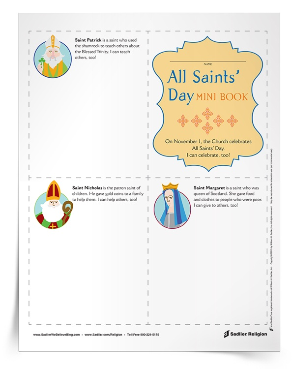 all-saints-day-for-kids-mini-book