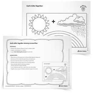 Care for God's Creation Printables for Catholics – God's Gifts Together Activity