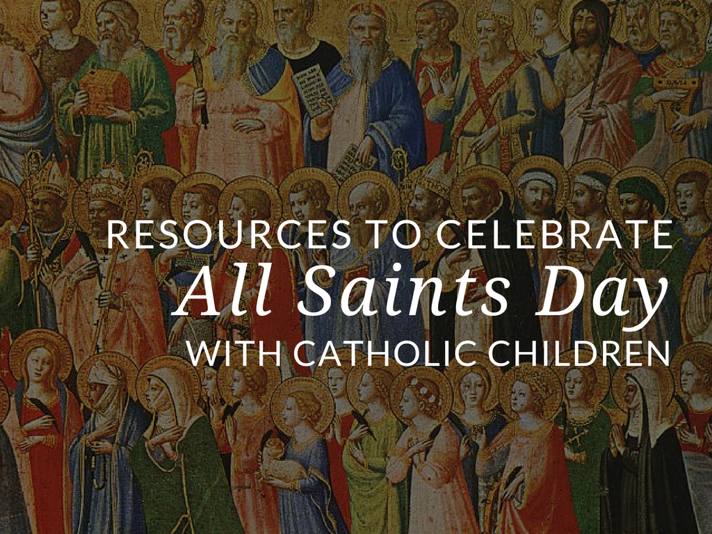 One of the first major feast days we encounter in the fall season is All Saints' Day. All Saints' Day is a solemnity celebrated on November 1st. It is a rich Catholic holiday and it offers many ways to engage students of all ages. Download six free resources to celebrate All Saints' Day with students and children!