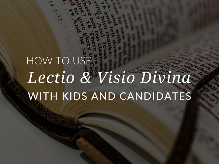 In this article, catechists and teachers will discover how to use lectio and visio divina in catechesis and during sacramental preparation! This simple lectio divina guide will Get ready to dive into the details of lectio divina for kids! how-to-do-lectio-divina-lectio-divina-for-kids-lectio-divina-guide