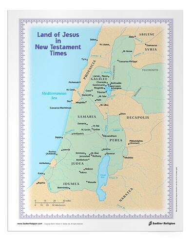As children study the life and teachings of Jesus, there is a natural opportunity to explore the geographic region in the time in which Jesus lived and taught, and today. Download a Land of Jesus in New Testament Times Faith Fact that families can use during Catholic scripture study.