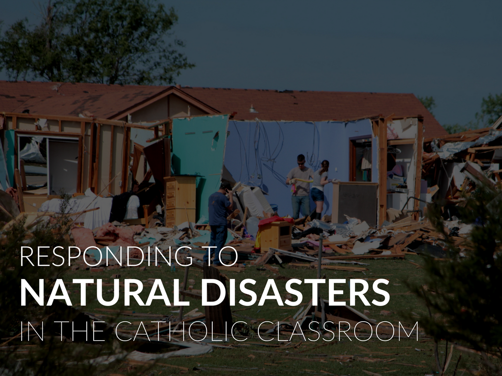 """In the wake of natural disasters that have occurred in the past several weeks, Pope Francis expressed his """"spiritual closeness"""" to those affected. We keep in our hearts and minds the victims an earthquake in Mexico, Hurricanes Irma and Harvey, which caused destruction in the southwestern and southeastern United States and Caribbean, fires burning in the western states, and widespread flooding in Asia. Pope Francis said , """"I am following this with my heart, praying for them. And I ask you to join me in this intention."""" Sadlier joins Pope Francis and all those praying for the victims of natural disasters, both here in the United States and worldwide."""