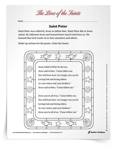 Teach Kids About Saint Peter the Apostle