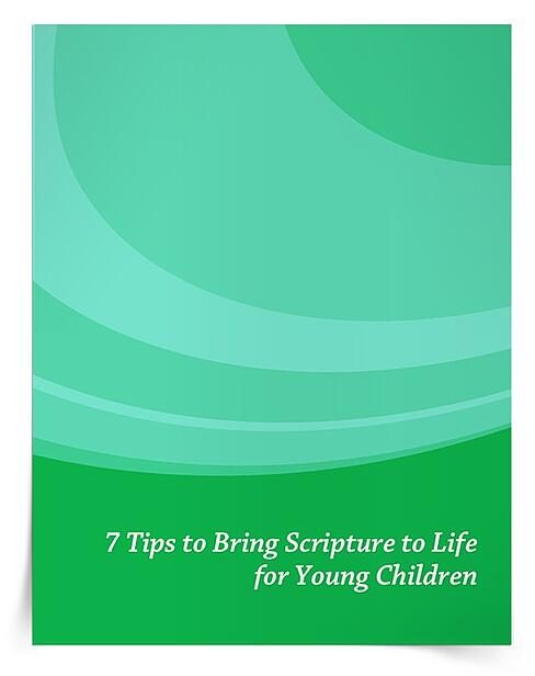 Download an eBook with seven suggestions for parents and catechists to bring Scripture stories to life for young children.