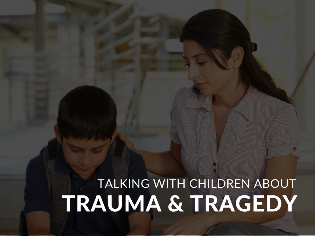 Often, educators, parents and caregivers struggle with what they should say or share with young children when trauma or tragedy transpires. This can be especially difficult considering the world view that the child is likely to have, based on their own previous life experiences. This may be the first time that the child is finding that their interpretation of the world, and the world itself, are two very different things. Here are some suggestions of tools and techniques for helping children cope.
