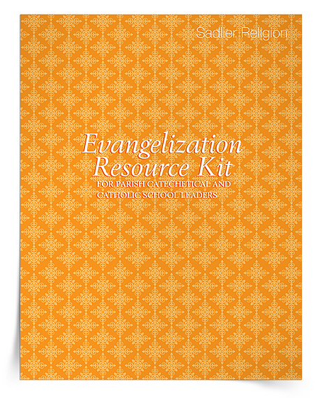 The Evangelization Resource Kit for parish catechetical and Catholic school leaders includes:  -What Makes You an Evangelizer? Reflection  -Evangelization in Word and Deed Support Article  -Forming Evangelizing Catechists Support Article  -Everyday Evangelization eBook