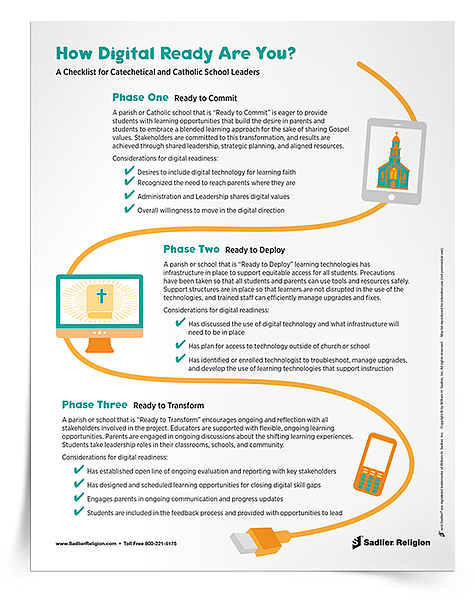Download a free resource for a checklist on how to determine your digital readiness!