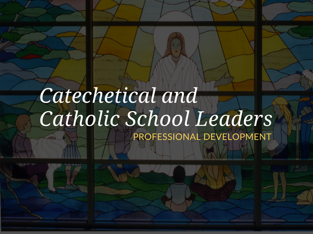 What kind of professional development has helped you in your role as a catechetical leader? In providing these articles my hope is that they will provide inspiration, support, encouragement, and affirmation for the work of all of you involved in catechetical leadership.
