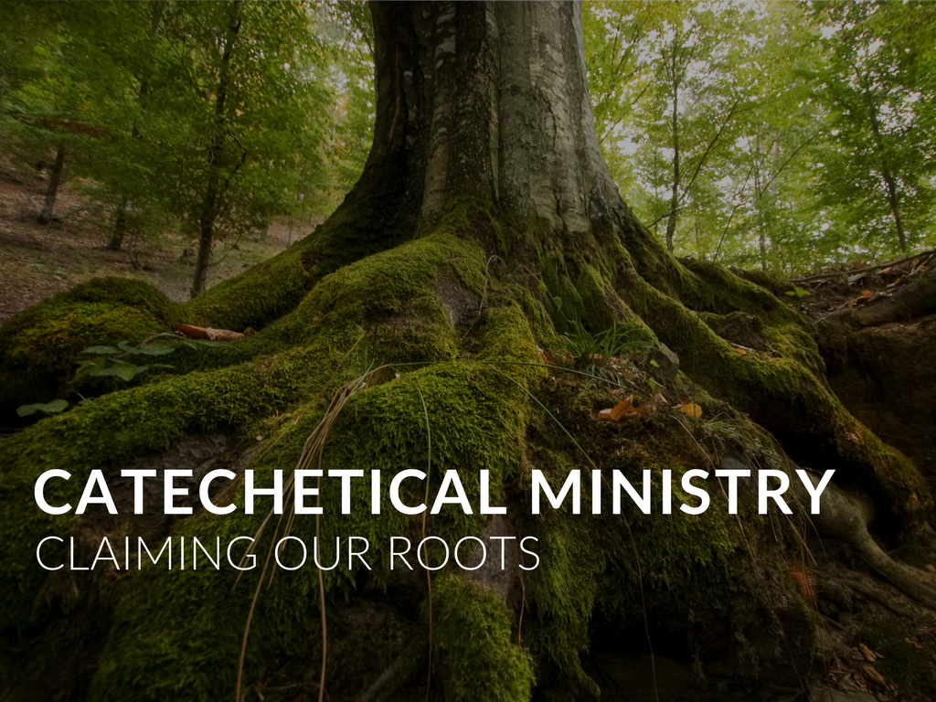 """Our communal stories are important as we endeavor to know our catechetical roots and our ministerial family tree. We often look back to Jesus to see and follow how he taught—there is even a Church document entitled """"To Teach as Jesus Did."""" But beyond the time of Jesus himself, what are the stories and people that can inspire us and encourage us?  Researching our history reminded me of the early Church stories and how Paul and others did catechesis through visits and then by letters. Meeting people on """"their turf"""" continues to be important as we live our missionary discipleship. And keeping in touch with those we evangelize and catechize is important, though we more likely use texting than letters."""