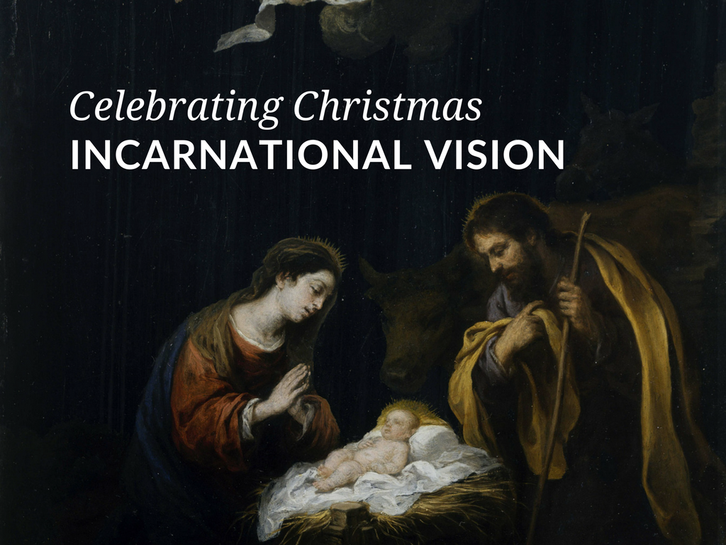 The Incarnation is the central mystery of Christianity and the crux of the entire Christmas season – the coming of God into our world through the person of Jesus Christ