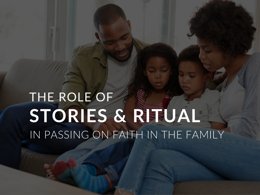 In this article I will explore the role story telling plays in passing on of faith and how Parish Catechetical Leaders can engage families with rituals of faith by sharing stories. Included is a printable handout catechetical and school leaders can give directly to their catechists, teachers, and parents to explain and execute this idea of the strength of stories and their connection to rituals of faith.