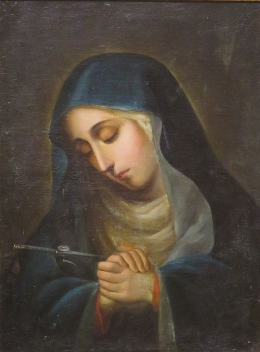 Of all the feasts to honor Mary, the one I love most is Our Lady of Sorrows feast day (September 15).  It recalls not only the sufferings Mary experienced in her life, but also the way she consoles others in the midst of theirs.