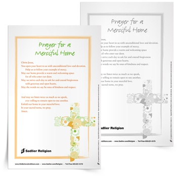 Prayer for a Merciful Home
