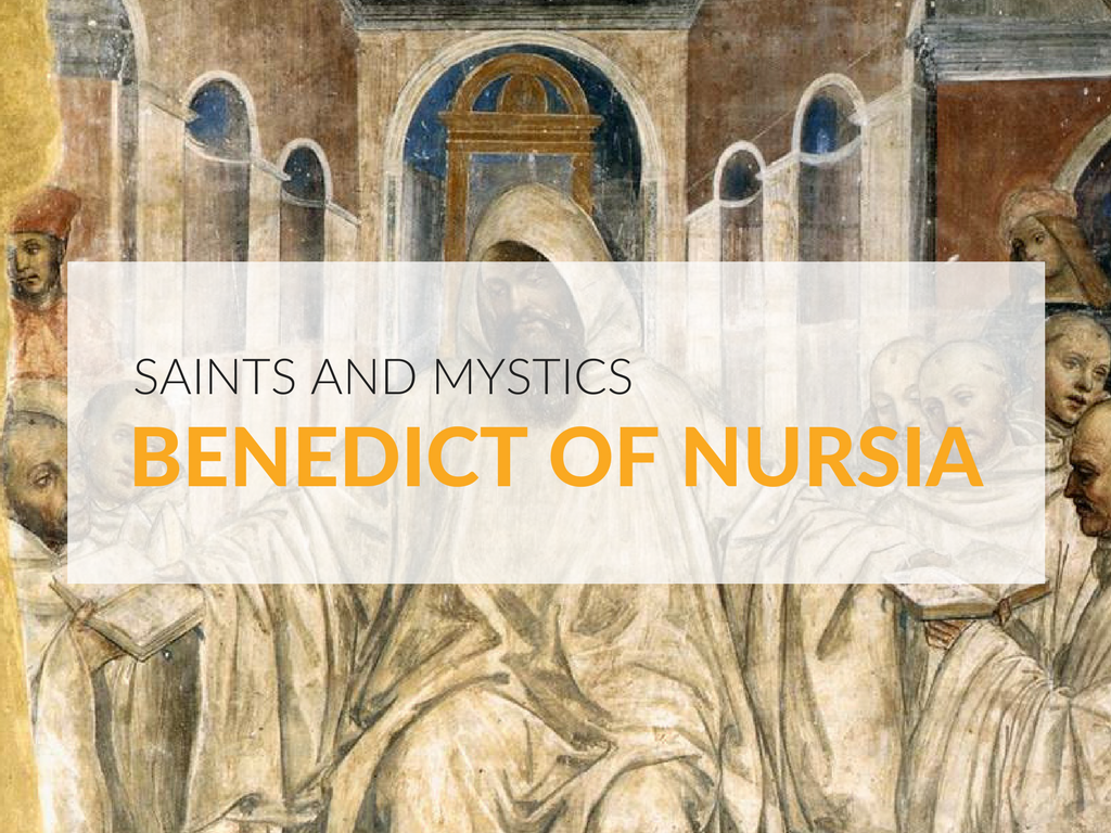 What can we learn from Saint Benedict of Nursia? One of the most striking things about the story of Benedict is his willingness to open himself to the challenges that were given to him.