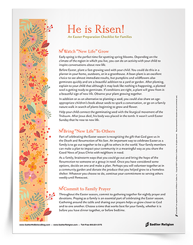 Easter Preparation Checklist for Families