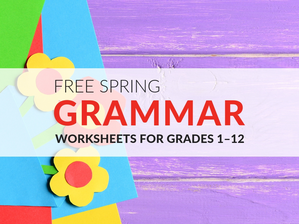 fun-spring-grammar-worksheets-for-the-classroom