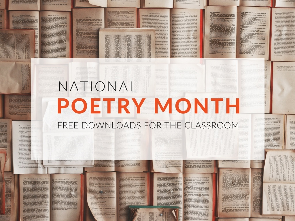 April is National Poetry Month! All month, students and teachers across the country (along with libraries, publishers, and poets) celebrate the art of poetry. These poetry resources and activities will make it easy to celebrate April's National Poetry Month in your classroom.