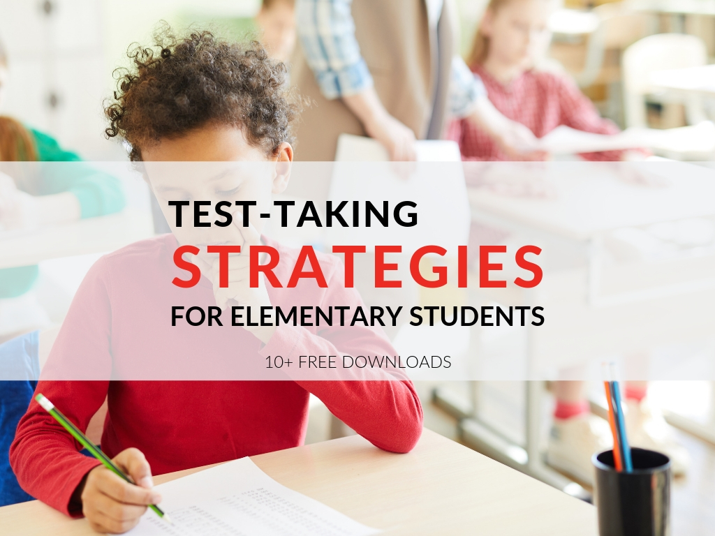 While I hope the majority of my instruction prepares my kids for our standardized tests there are 3 basic test taking strategies for elementary students I review... and 10 printable resources that help! test-taking-strategies-for-elementary-students.jpg