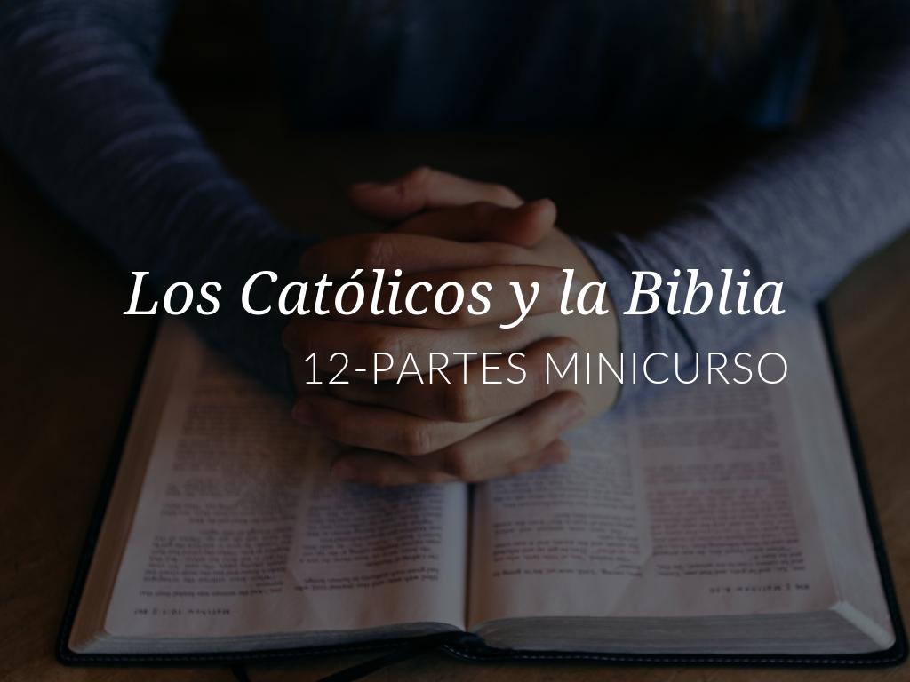 Explorará varios aspectos relativos a cómo interpretar mejor la Biblia desde una perspectiva católica, junto a los participantes del Minicurso Los Católicos y la Escritura de la Biblia.